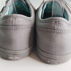 32c96f8fed Vans Shoes - Women s Solid Gray Vans 9.5 VGUC